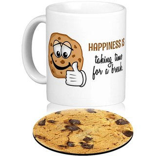 Giftcart-Take A Break Mug  Coaster Set