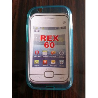 Soft Jelly Silicone Back Cover Case For Samsung Galaxy Rex 60 C3312R