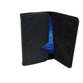 Totta Wallet Case Cover for BLU Studio X (Black)