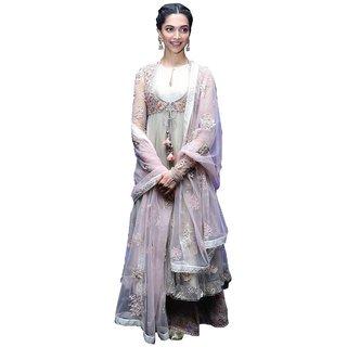 Deepika Padukone Deewani Mastani Bollywood Anarkali Suit
