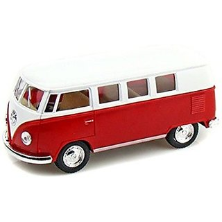 Volkswagen 1962 Classical Bus - Red  White