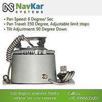 350 Degree Scanner / Motor / Rotator For CCTV Camera