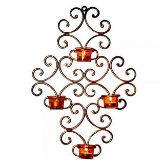 Wall Hanging Tea light Holder