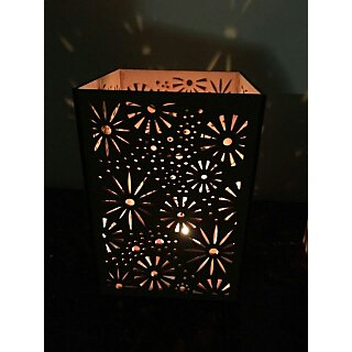 Handmade Wooden shadow lamps