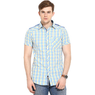 Duke Stardust Yellow Shirt For Men