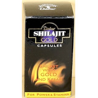 Dabur Gold Shilajit 20 Capsules  Concealed Shipping  available at ShopClues for Rs.330