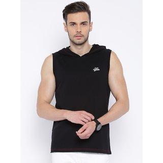 Cult Fiction Black Color Sleevless MenS T-Shirt