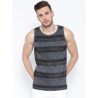 Cult Fiction Charcoal Color Sleevless MenS T-Shirt