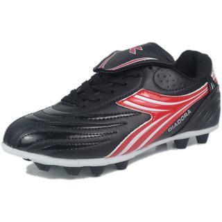 DIADORA BAMBINO FOOTBALL STUD DDS 00301 BLACK RED