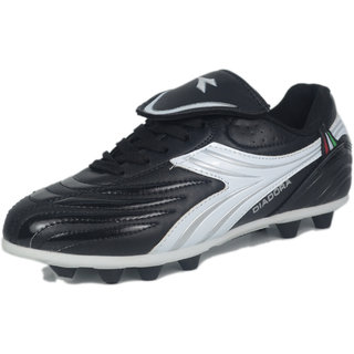 DIADORA BAMBINO FOOTBALL STUD DDS 00302 BLACK WHITE