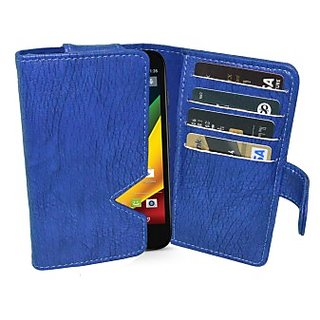 Totta Wallet Case Cover for Motorola Razr M         (White)