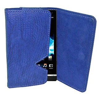 Totta Wallet Case Cover for Sony Xperia Ion         (Blue)
