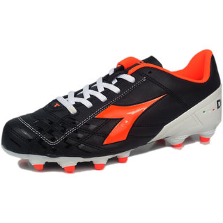 DIADORA DD-EVOLUE 2 MG 14-C 4114 FOOTBALL STUD BLACK WHITE PEARLY