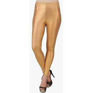 women leggings/ shimmer leggings/ golden leggings/ ladies shimmer legging