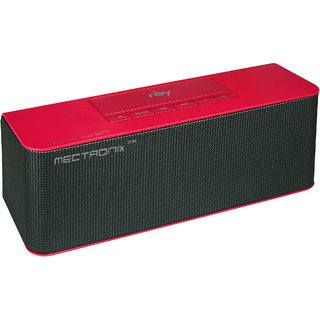 Mectronix Sound-Brick NBY Bluetooth Speaker Red