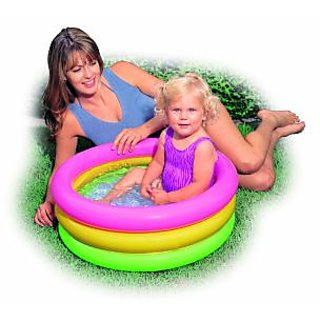 intex inflatable baby pool bath water tub for kids available at shopclues for. Black Bedroom Furniture Sets. Home Design Ideas