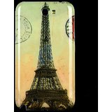 Samsung Galaxy Note II N7100 Eiffel Tower Pattern Hard Case Cover (MI5C473)
