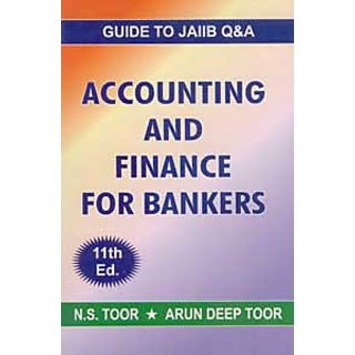 Accounting  Finance For Bankers - Objective Type Questions ( Guide To JAIIB )