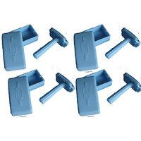 combo of 4 ladies reusable safety razor