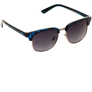6by6 Blue Wayfarer Unisex Sunglasses