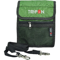 Tripon Designer Passport Sling Bag-Green