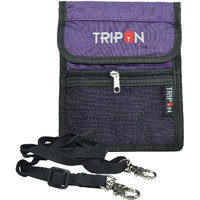 Tripon Designer Passport Sling Bag-Purple