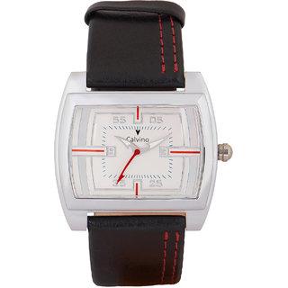 Calvino Mens White Dial Watch CGLSVC-3BlackWhite