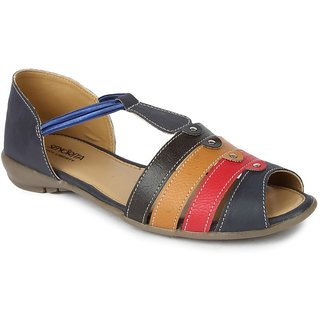 Liberty WomenS Blue Casual Sandals