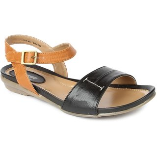 Liberty WomenS Black Casual Sandals