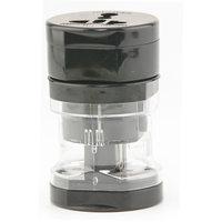 Universal Multi Travel Power Plug 3in1 Adaptor Black