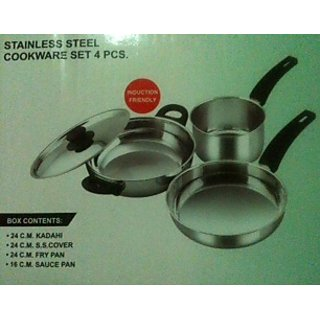 Stainless Steel Cookware Set Of 4