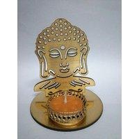 New  Shadow Buddha Ji Tea Light Candle Holder