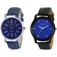 Gravity Turquoise Blue Mens Casual Analog Watches-07