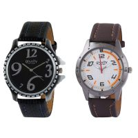 Gravity Sporty Black  Brown Mens Casual Analog Watches-08
