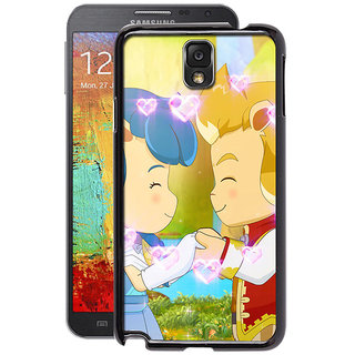 Instyler Digital Printed Back Cover For Samsung Galaxy Note 3 SGN3DS-10369