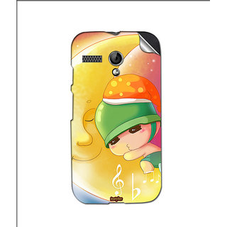 Instyler Mobile Skin Sticker For Moto G MSMOTOGDS10059