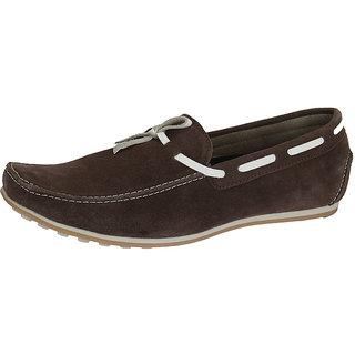 Italiano Men's Brown Stylish Loafers - Option 19