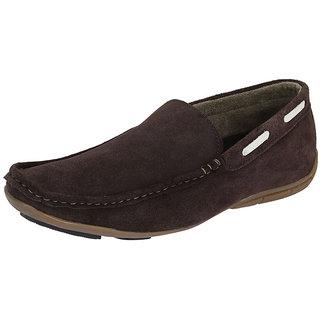 Italiano Men's Brown Stylish Loafers - Option 9