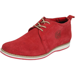 Italiano Men's Red Boots