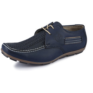Italiano Men's Black Casual Stylish Shoes - Option 6