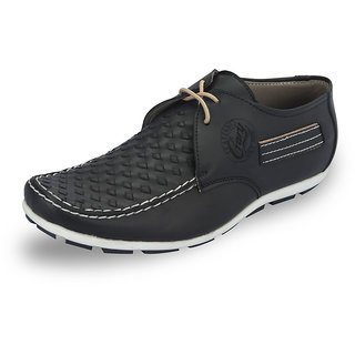 Italiano Men's Black Casual Stylish Shoes - Option 5