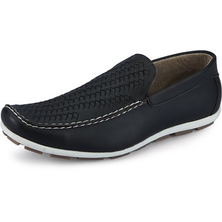 Italiano Men's Black Casual Stylish Shoes - Option 8