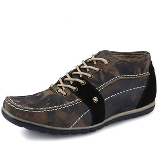 Italiano Men's Black Casual Stylish Shoes - Option 7