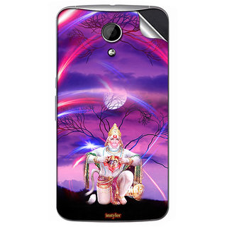 Instyler Mobile Skin Sticker For Moto G2 MSMOTOG2DS10104