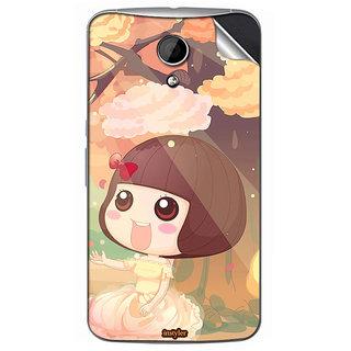 Instyler Mobile Skin Sticker For Moto G2 MSMOTOG2DS10058