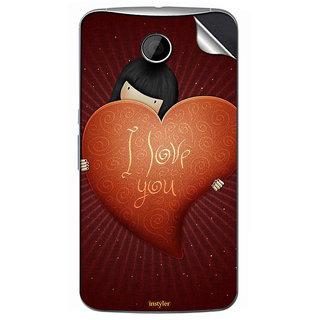 Instyler Mobile Skin Sticker For Motorola Nexus 6 MSMOTOROLANEXUS6DS10127