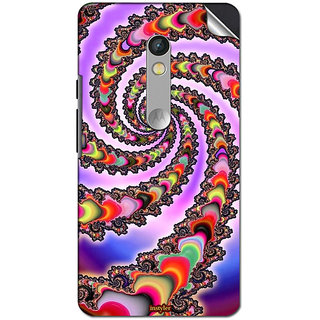 Instyler Mobile Skin Sticker For Moto X Play MSMOTOXPLAYDS10156