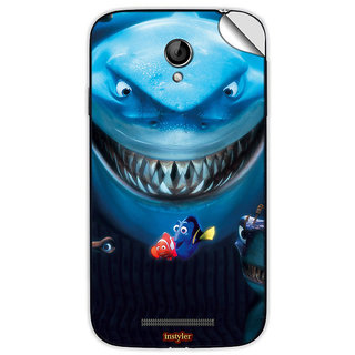Instyler Mobile Skin Sticker For Coolpad 8702 MSCOOLPAD8702DS10054