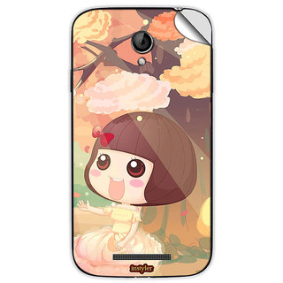 Instyler Mobile Skin Sticker For Coolpad 8702 MSCOOLPAD8702DS10058