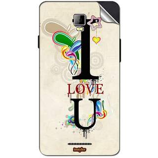 Instyler Mobile Skin Sticker For Coolpad 8705 MSCOOLPAD8705DS10122